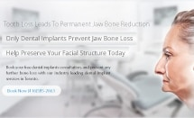 prevent Jaw bone reduction